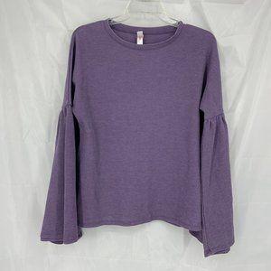 Xhilaration Size XS Purple Long Sleeve Sleep Shirt